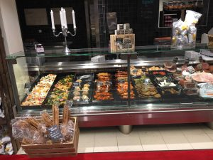 Inspiring deli counter
